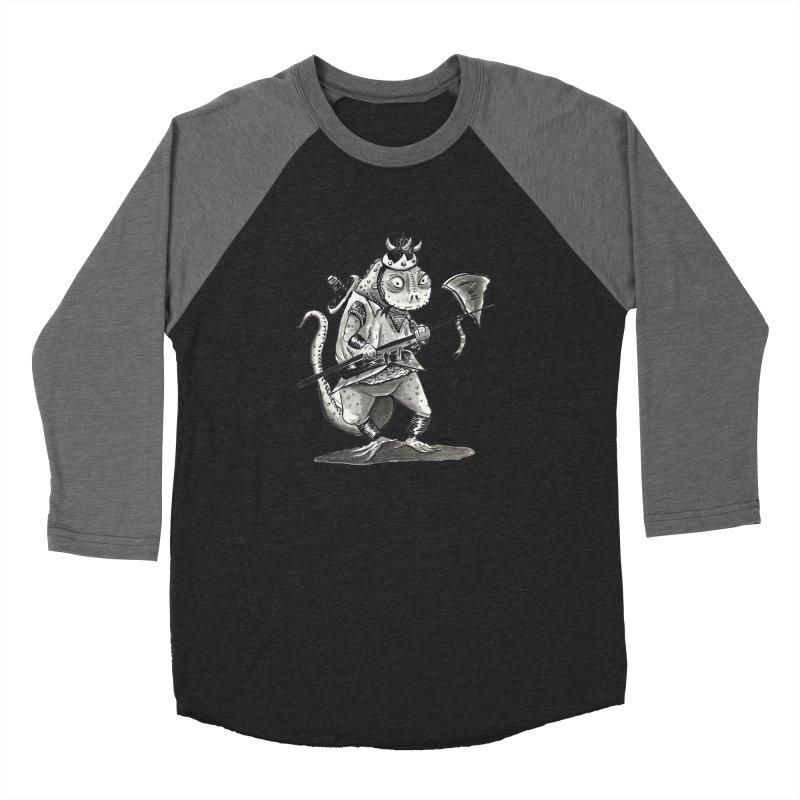 Lizard Warrior Men's Baseball Triblend Longsleeve T-Shirt by tjjudgeillustration's Artist Shop