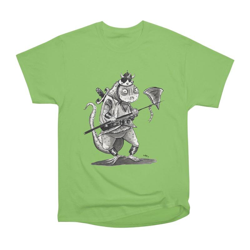 Lizard Warrior Men's T-Shirt by tjjudgeillustration's Artist Shop