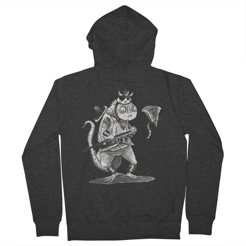 Lizard Warrior Men's Zip-Up Hoody by tjjudgeillustration's Artist Shop
