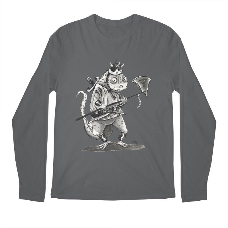 Lizard Warrior Men's Longsleeve T-Shirt by tjjudgeillustration's Artist Shop