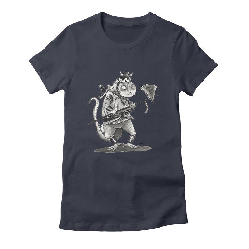 Lizard Warrior Women's T-Shirt by tjjudgeillustration's Artist Shop