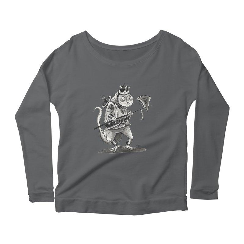 Lizard Warrior Women's Longsleeve T-Shirt by tjjudgeillustration's Artist Shop