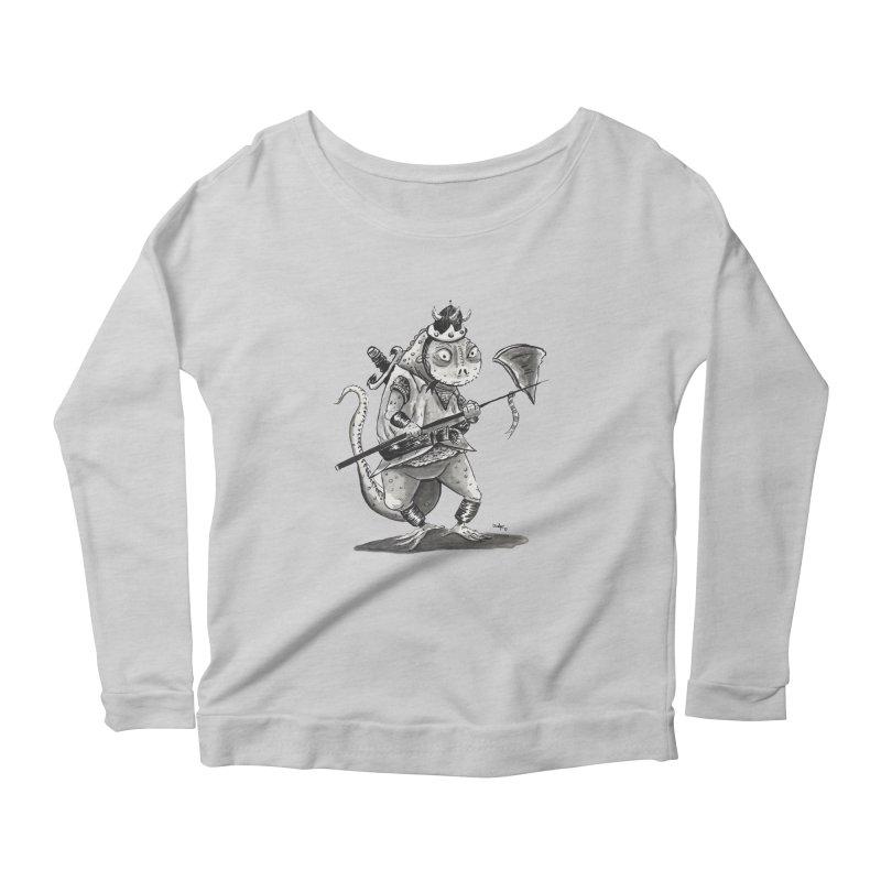 Lizard Warrior Women's Scoop Neck Longsleeve T-Shirt by tjjudgeillustration's Artist Shop