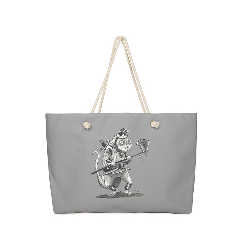 Lizard Warrior Accessories Bag by tjjudgeillustration's Artist Shop