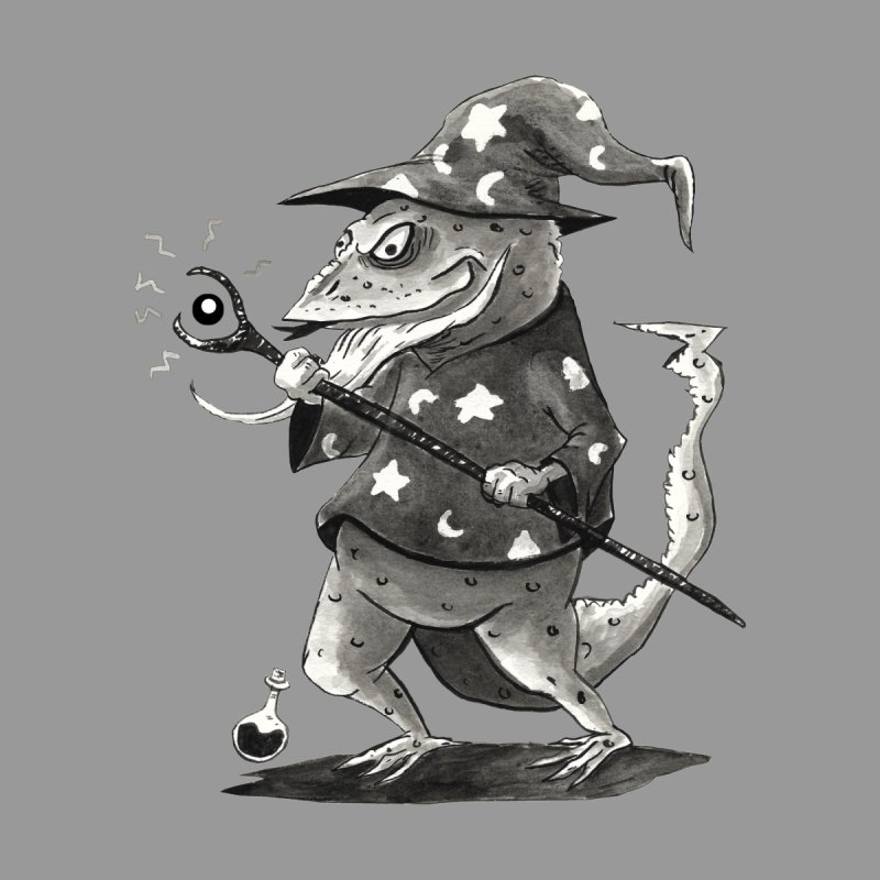 Wizard Lizard Kids Toddler Longsleeve T-Shirt by tjjudgeillustration's Artist Shop