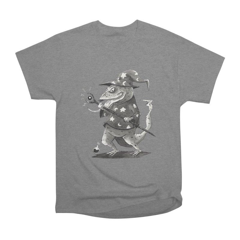 Wizard Lizard Men's T-Shirt by tjjudgeillustration's Artist Shop