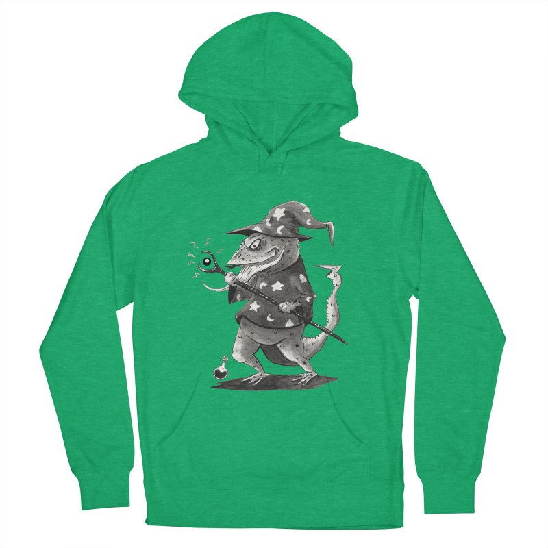 Wizard Lizard Women's French Terry Pullover Hoody by tjjudgeillustration's Artist Shop