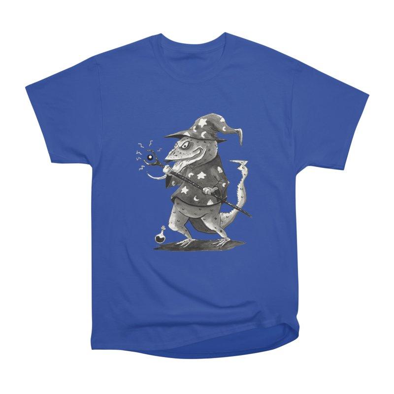 Wizard Lizard Men's Heavyweight T-Shirt by tjjudgeillustration's Artist Shop