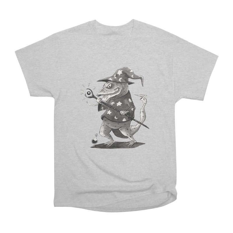 Wizard Lizard Men's T-Shirt by tjjudgeillustration's Artist Shop