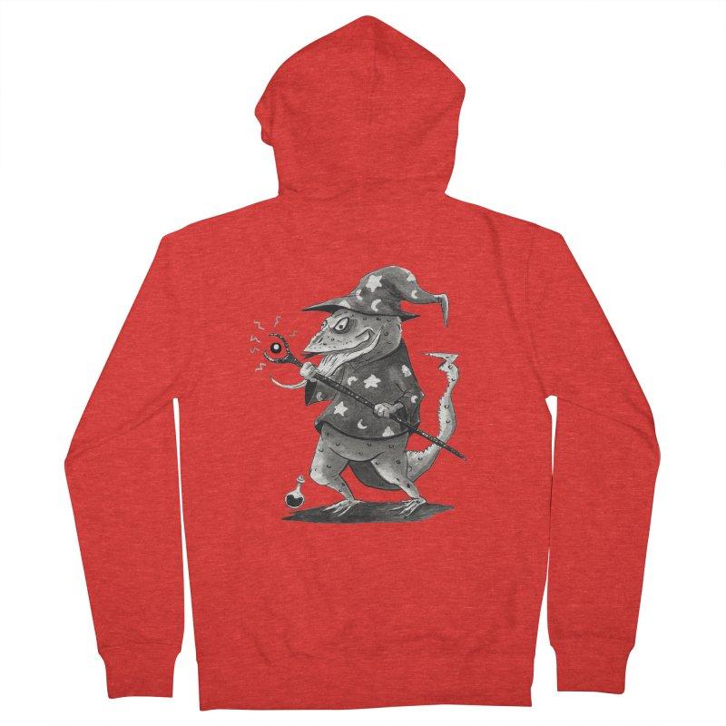 Wizard Lizard Men's Zip-Up Hoody by tjjudgeillustration's Artist Shop