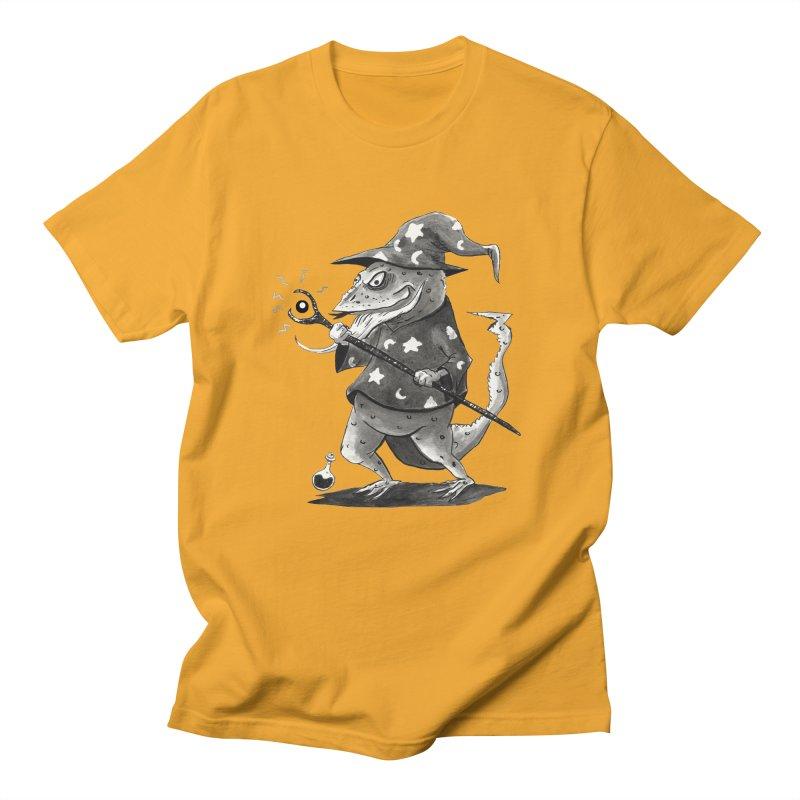 Wizard Lizard Women's Regular Unisex T-Shirt by tjjudgeillustration's Artist Shop