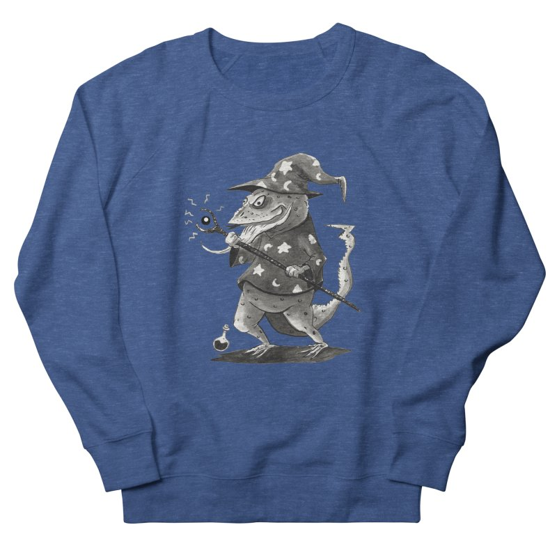 Wizard Lizard Men's Sweatshirt by tjjudgeillustration's Artist Shop