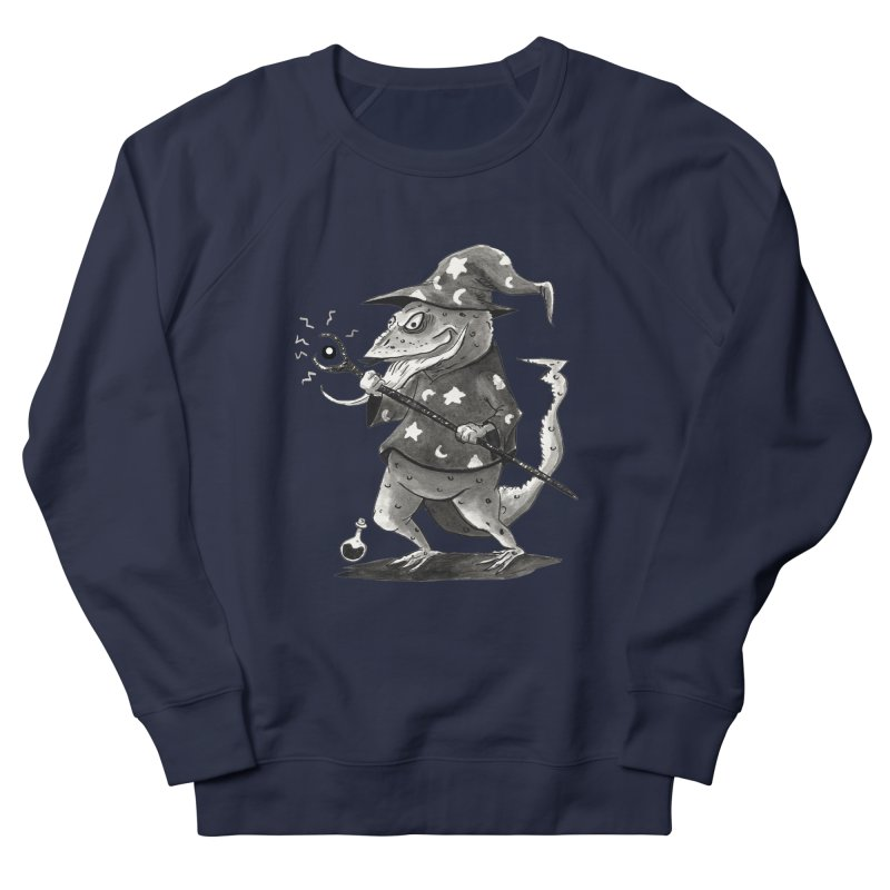 Wizard Lizard Men's Sweatshirt by tjjudgeillustration's Artist Shop