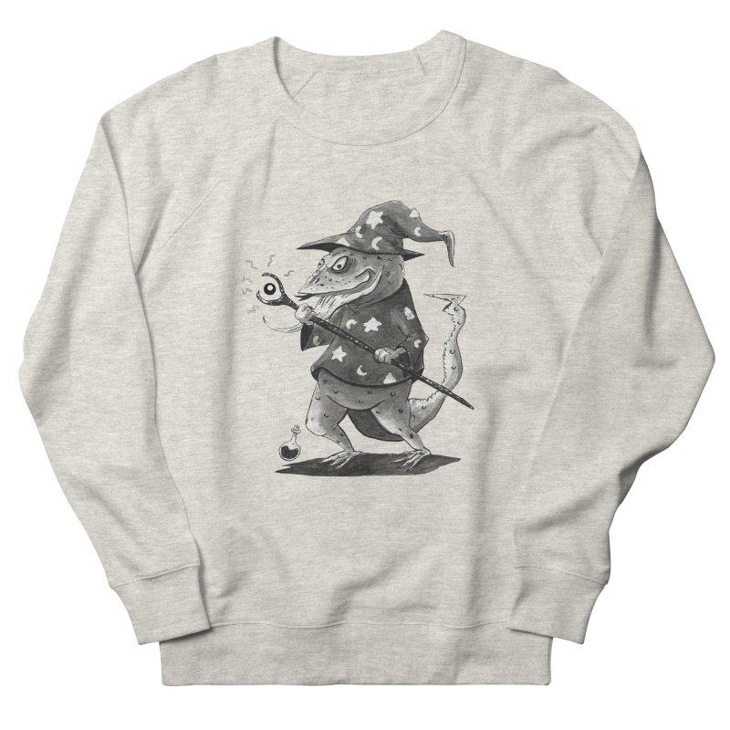 Wizard Lizard Men's French Terry Sweatshirt by tjjudgeillustration's Artist Shop