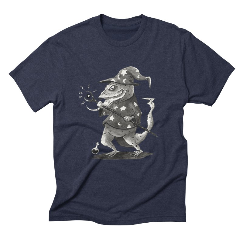 Wizard Lizard Men's Triblend T-Shirt by tjjudgeillustration's Artist Shop