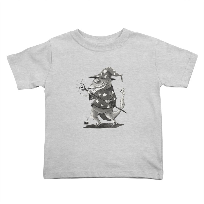 Wizard Lizard Kids Toddler T-Shirt by tjjudgeillustration's Artist Shop