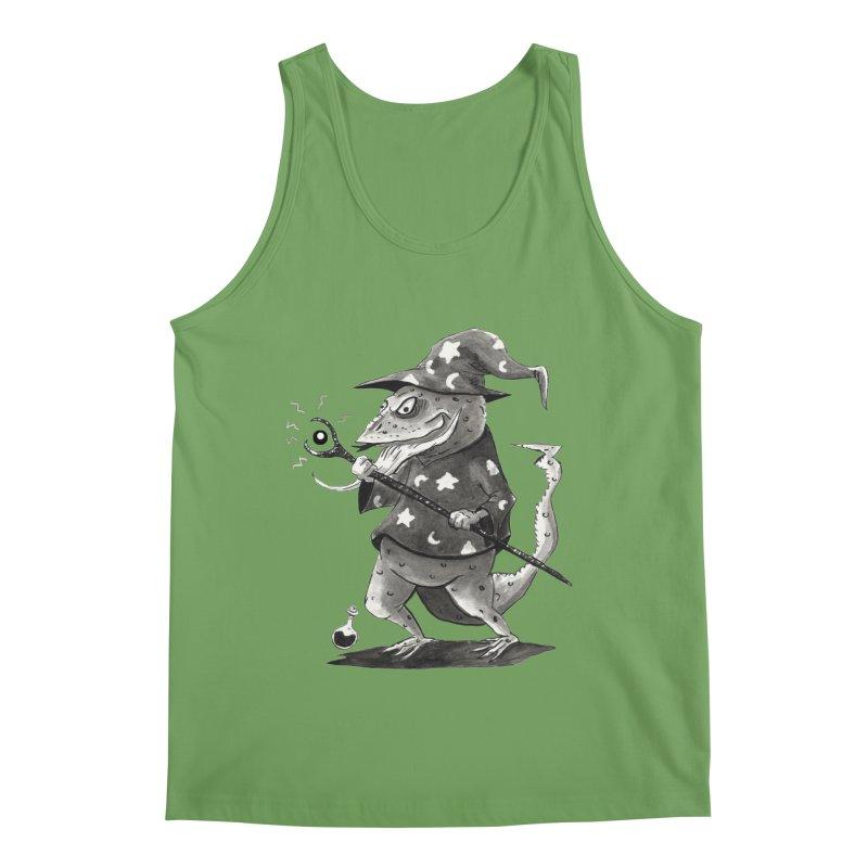 Wizard Lizard Men's Tank by tjjudgeillustration's Artist Shop