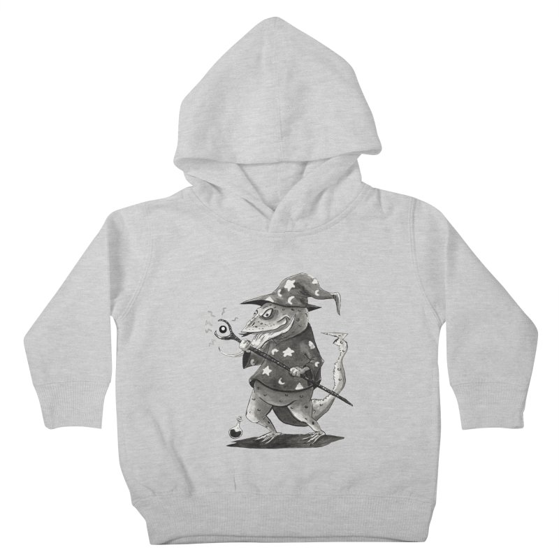 Wizard Lizard Kids Toddler Pullover Hoody by tjjudgeillustration's Artist Shop