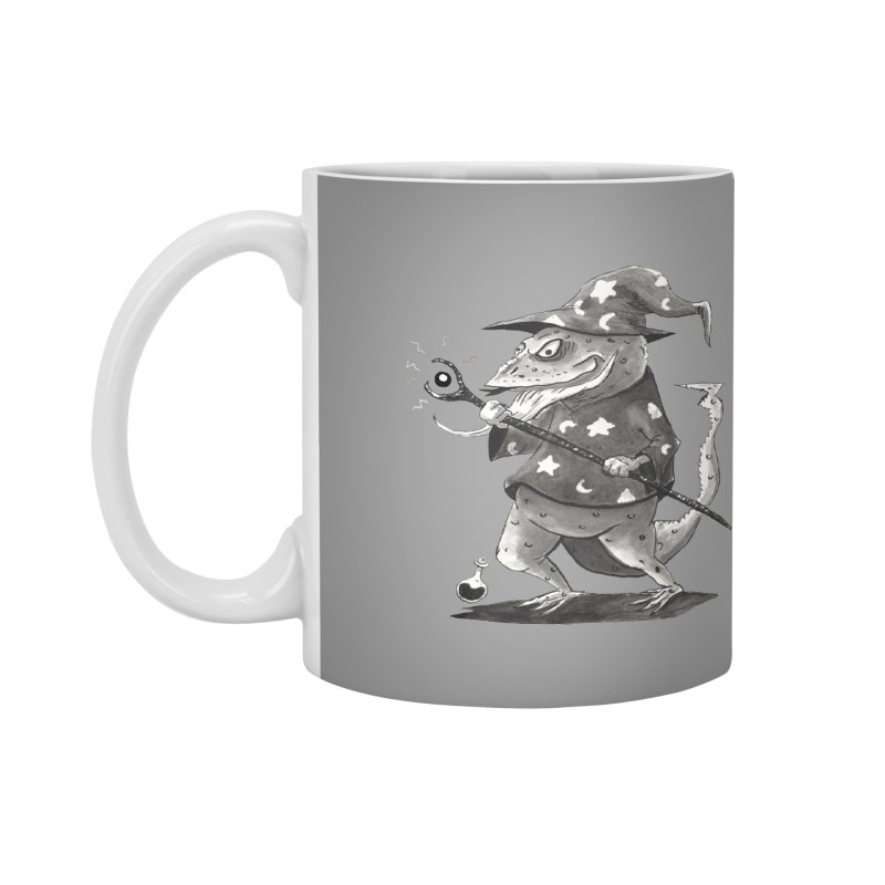 Wizard Lizard Accessories Mug by tjjudgeillustration's Artist Shop