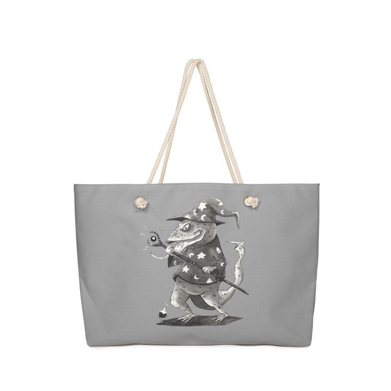 Wizard Lizard Accessories Bag by tjjudgeillustration's Artist Shop