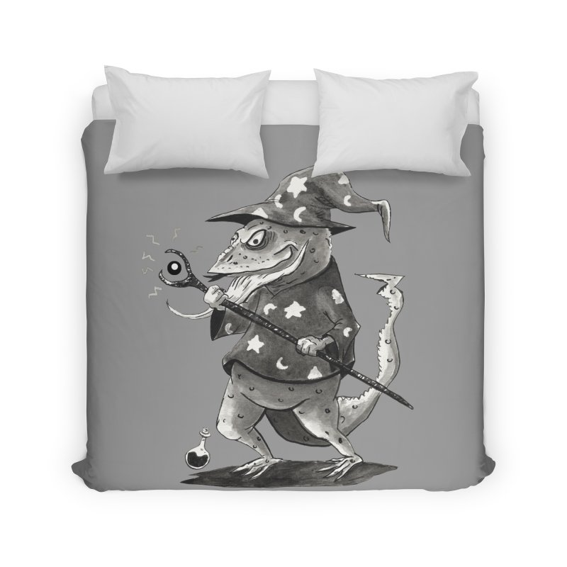 Wizard Lizard Home Duvet by tjjudgeillustration's Artist Shop
