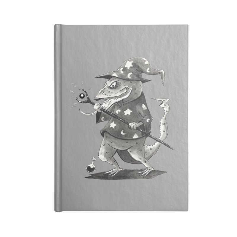 Wizard Lizard Accessories Notebook by tjjudgeillustration's Artist Shop