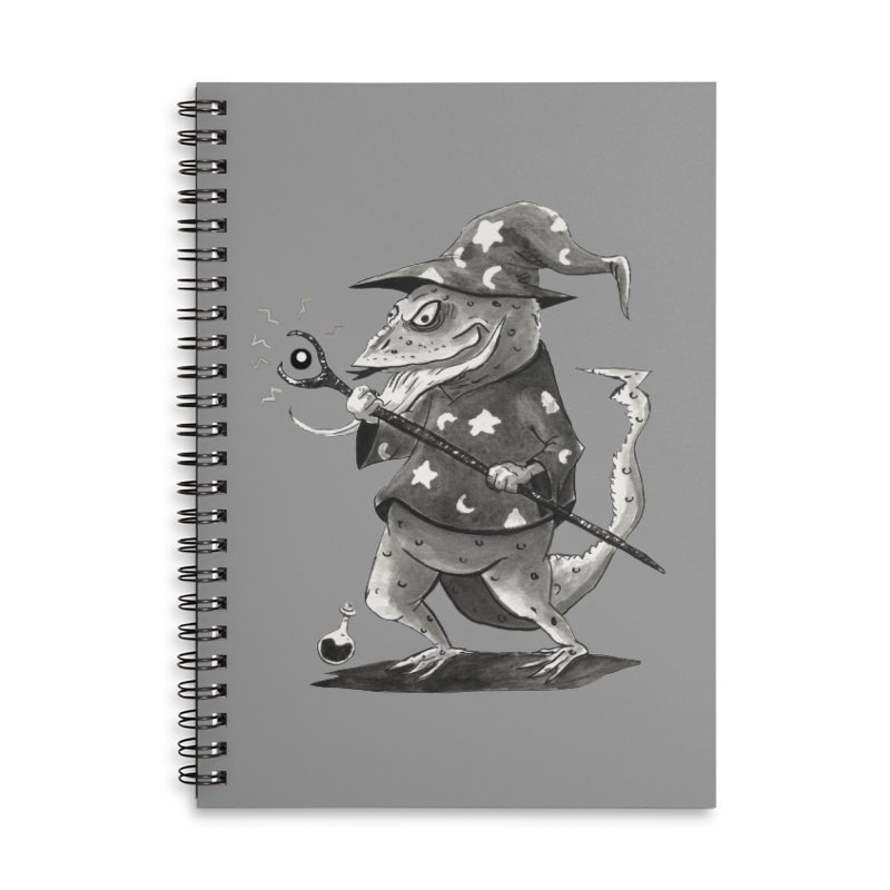 Wizard Lizard Accessories Notebook by tjjudgeillustration's Artist Shop