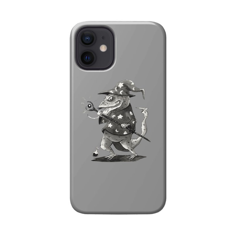 Wizard Lizard Accessories Phone Case by tjjudgeillustration's Artist Shop
