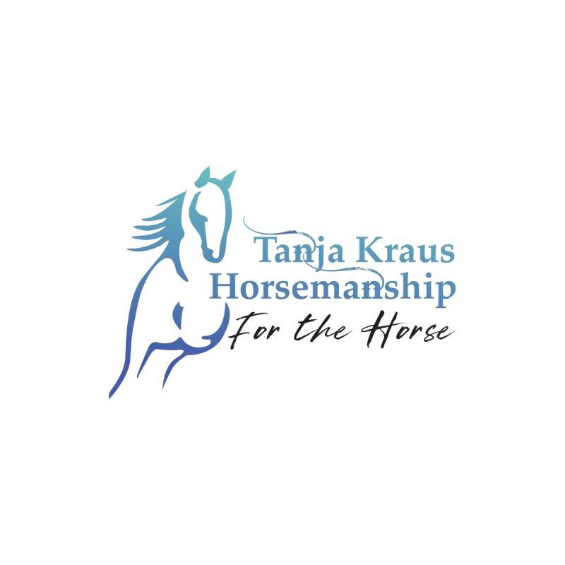 Tanja Kraus Horsemanship Logo Men's Zip-Up Hoody by tkhorsemanship's Artist Shop