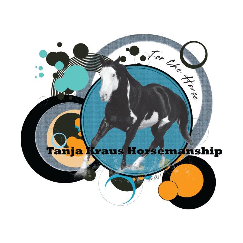 Tanja Kraus Horsemanship Cooper Circles Men's Zip-Up Hoody by tkhorsemanship's Artist Shop
