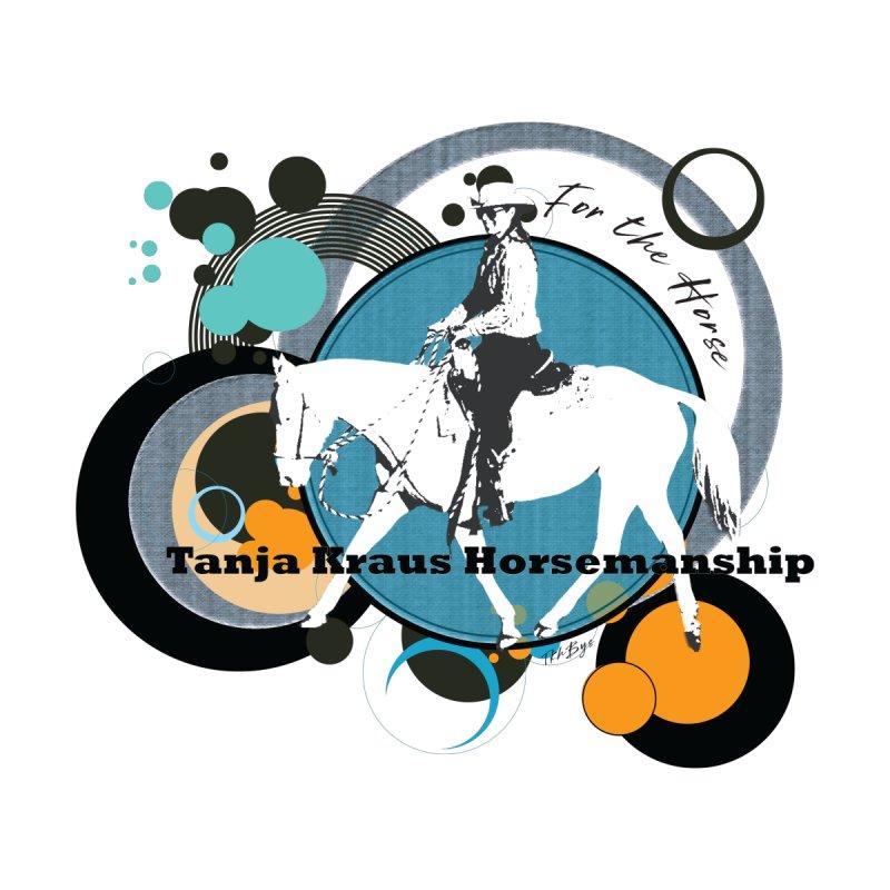Tanja Kraus Horsemanship TK Circles Men's Zip-Up Hoody by tkhorsemanship's Artist Shop