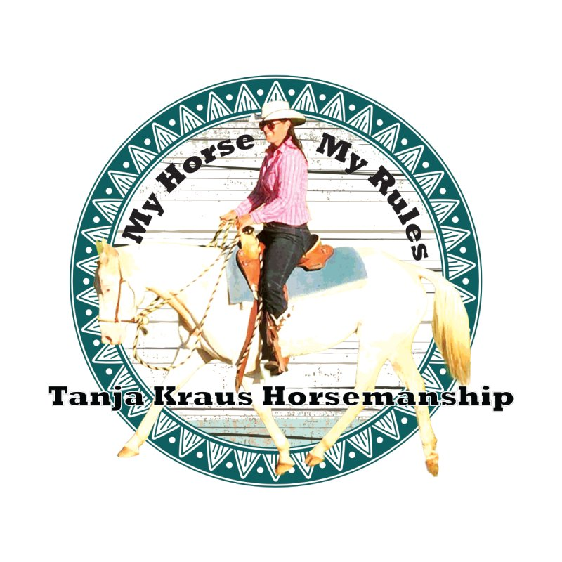 Tanja Kraus Horsemanship Retro Boogie-Wood Men's Zip-Up Hoody by tkhorsemanship's Artist Shop