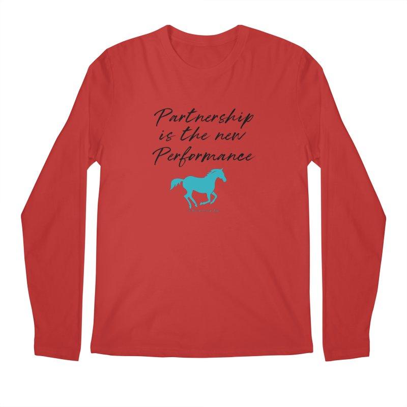 TKH Partnership is the new performance Men's Longsleeve T-Shirt by tkhorsemanship's Artist Shop
