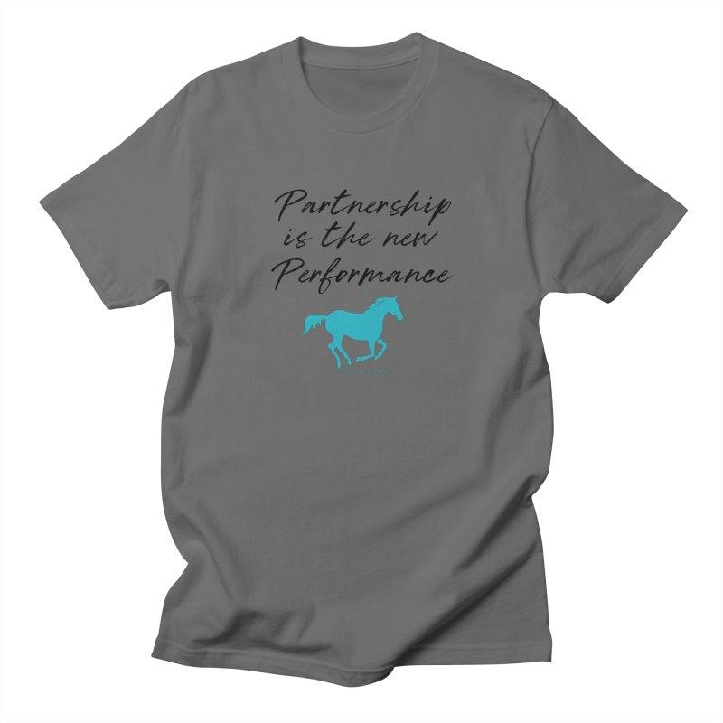 TKH Partnership is the new performance Men's T-Shirt by tkhorsemanship's Artist Shop