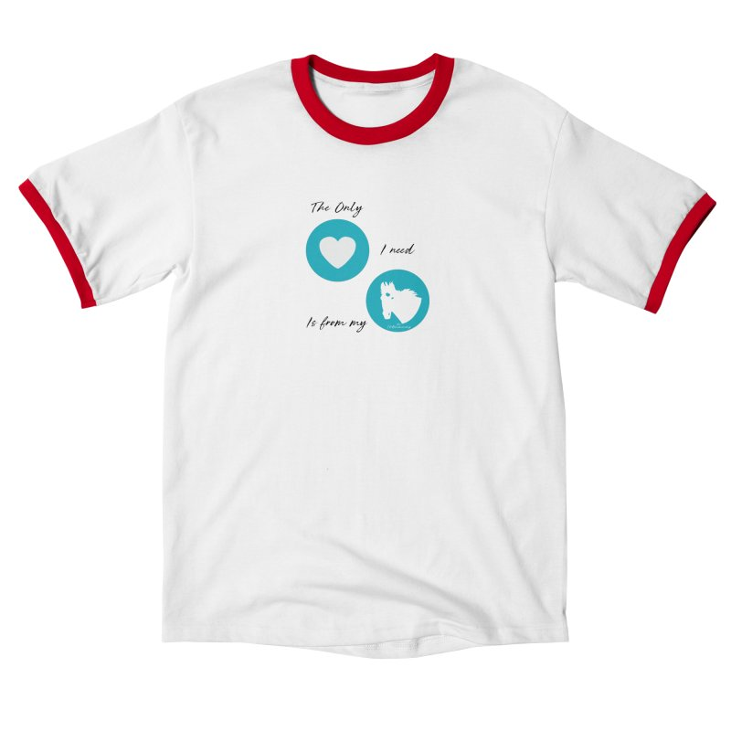 TKH - The only Love I need Women's T-Shirt by tkhorsemanship's Artist Shop