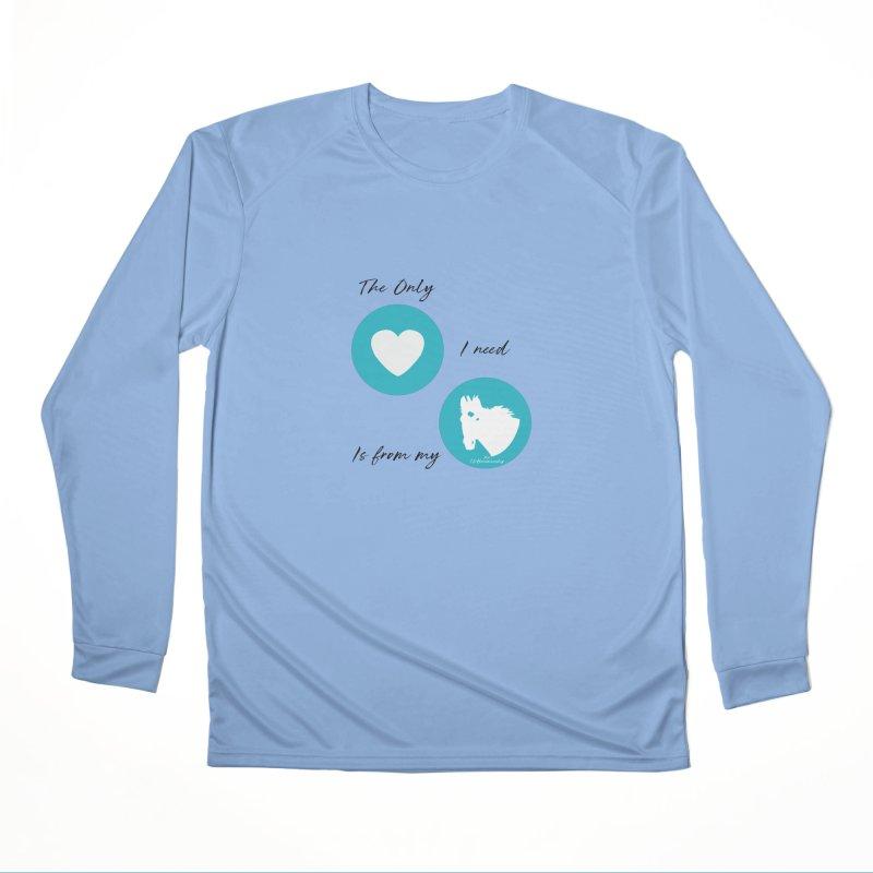 TKH - The only Love I need Men's Longsleeve T-Shirt by tkhorsemanship's Artist Shop