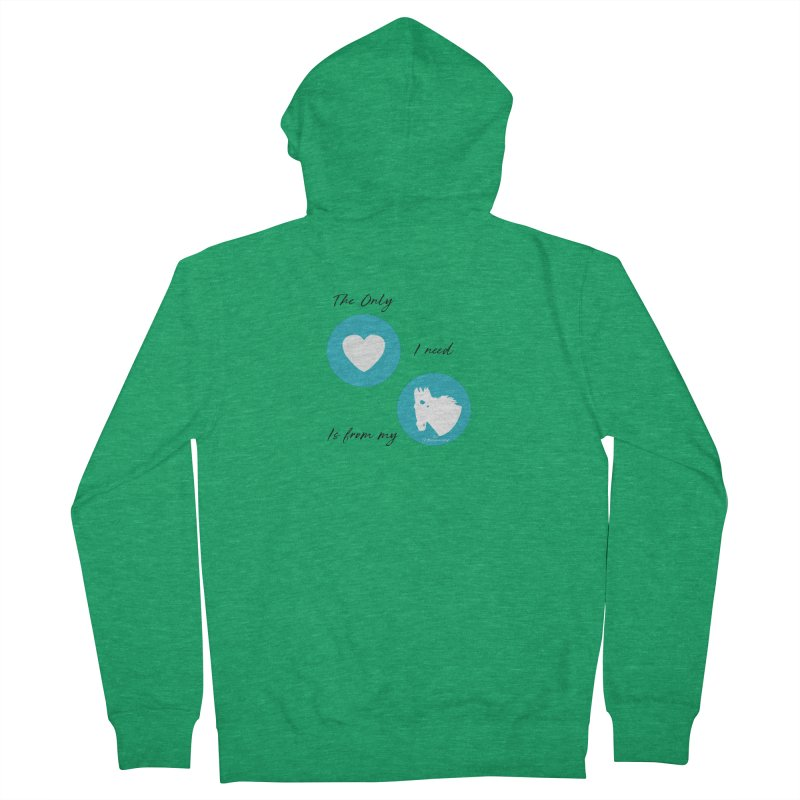 TKH - The only Love I need Men's Zip-Up Hoody by tkhorsemanship's Artist Shop