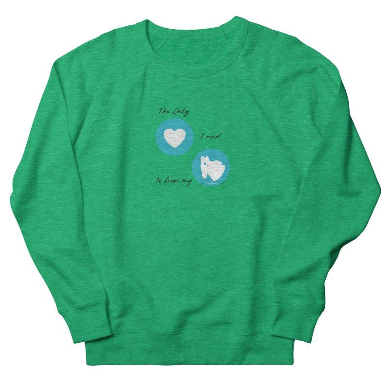TKH - The only Love I need Women's Sweatshirt by tkhorsemanship's Artist Shop