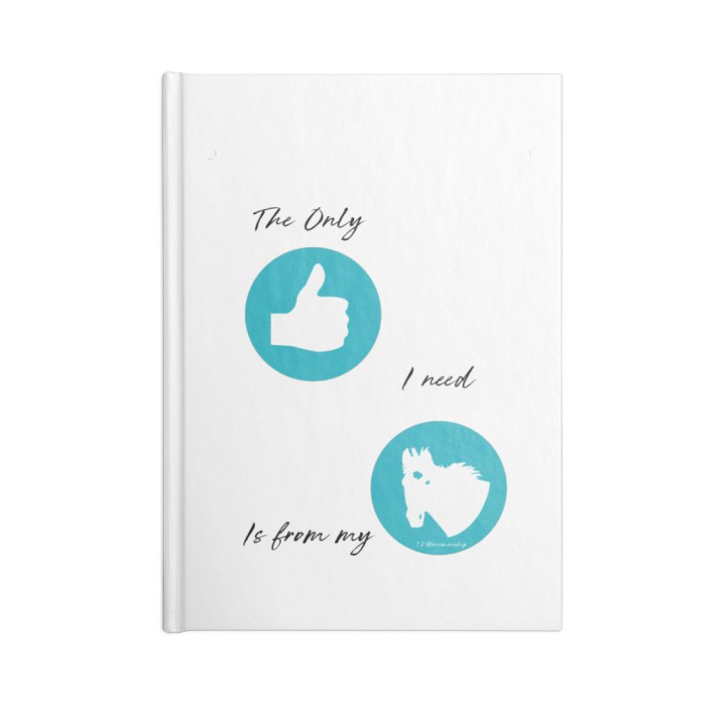 TKH Thumbs Up Love Accessories Notebook by tkhorsemanship's Artist Shop