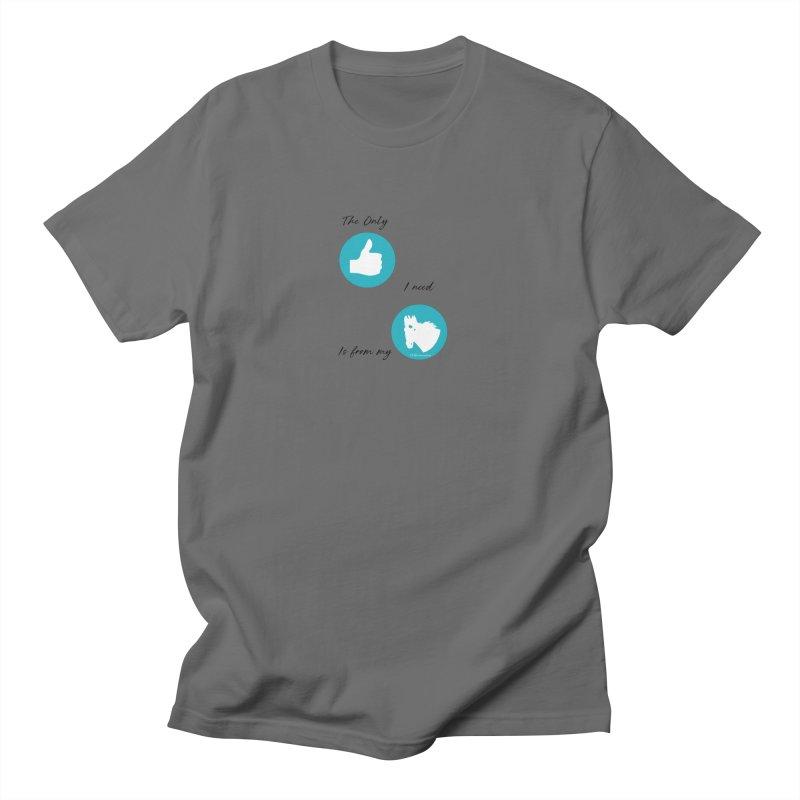 TKH Thumbs Up Love Men's T-Shirt by tkhorsemanship's Artist Shop