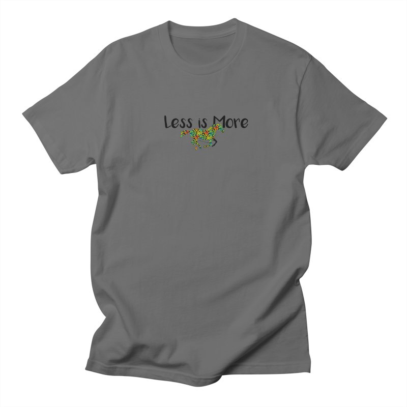 Less is More- TKH Men's T-Shirt by tkhorsemanship's Artist Shop