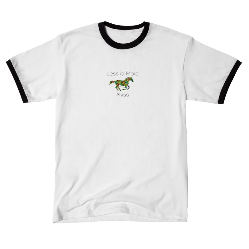 Less is More - TKH Kiss Women's T-Shirt by tkhorsemanship's Artist Shop