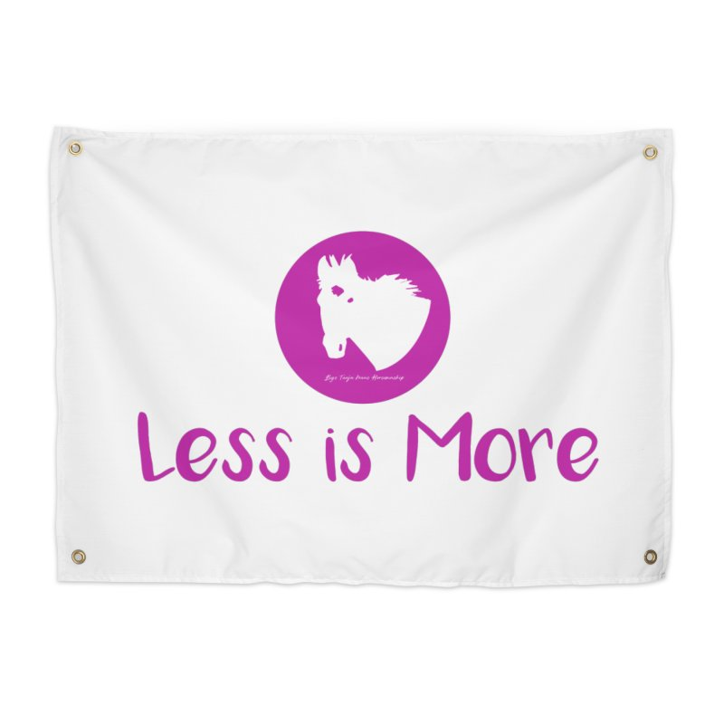 Less is more - TKH Pink Home Tapestry by tkhorsemanship's Artist Shop