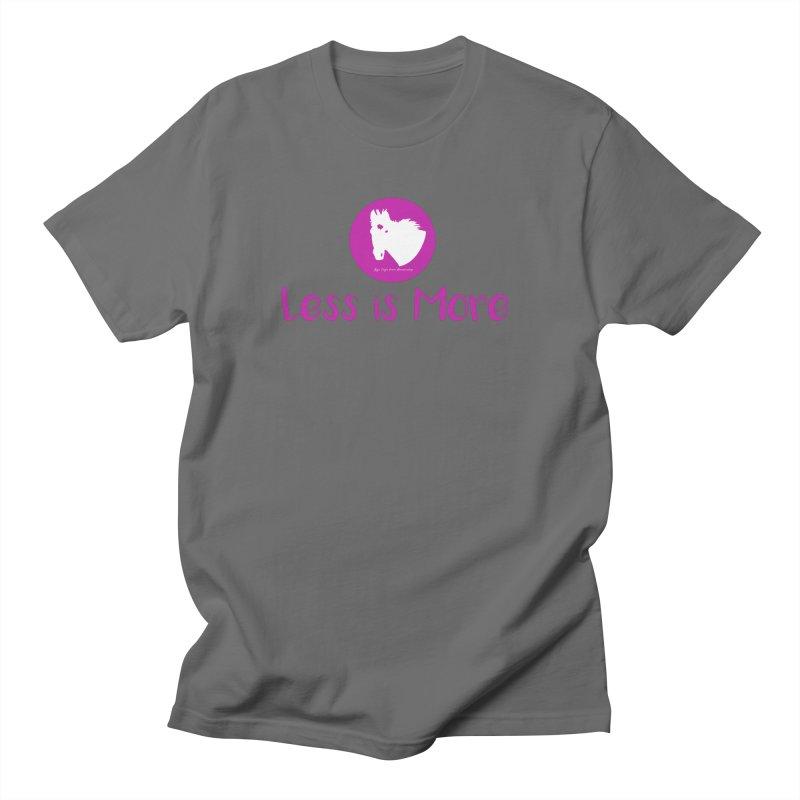 Less is more - TKH Pink Men's T-Shirt by tkhorsemanship's Artist Shop