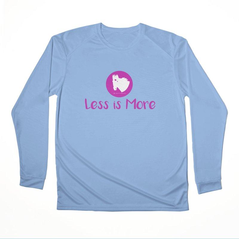 Less is more - TKH Pink Men's Longsleeve T-Shirt by tkhorsemanship's Artist Shop