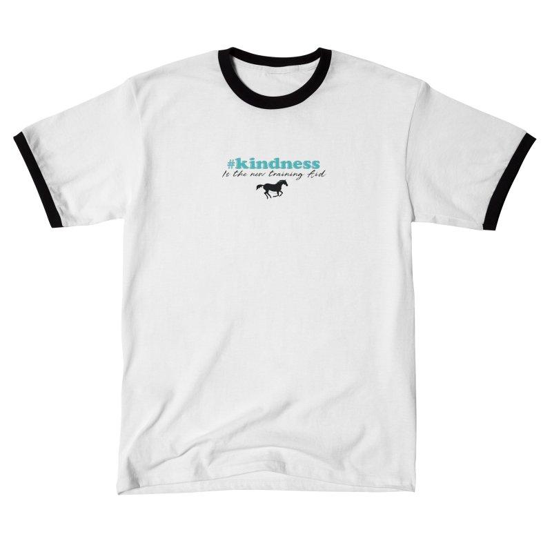 Kindness is the new training aid Women's T-Shirt by tkhorsemanship's Artist Shop