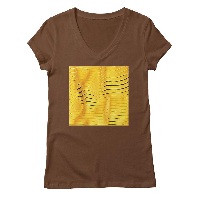 Goldie I Women's V-Neck by Art Design Works