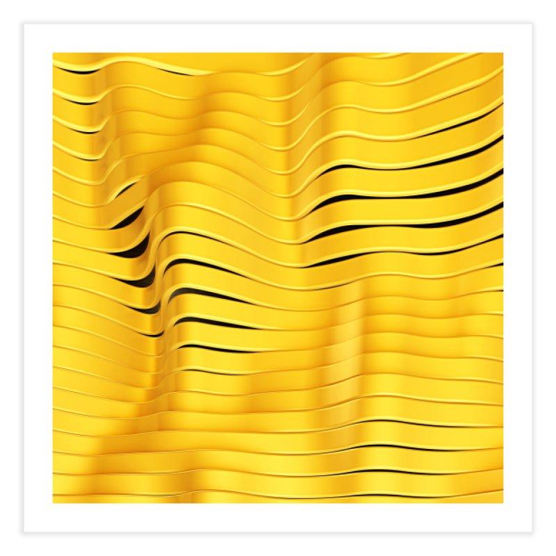 Goldie I Home Fine Art Print by Art Design Works