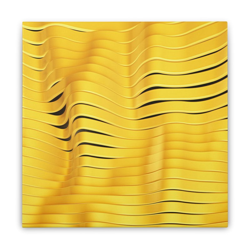 Goldie I Home Stretched Canvas by Art Design Works
