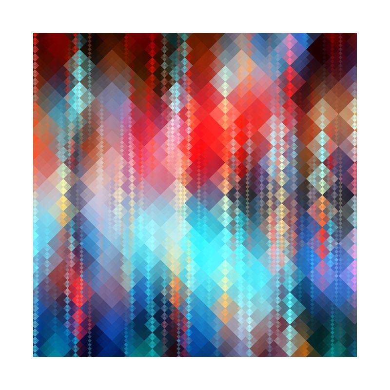Fractal Pixels I Women's Zip-Up Hoody by Art Design Works